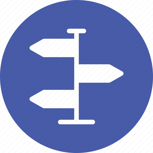 direction, directions, navigation, real estate, road icon