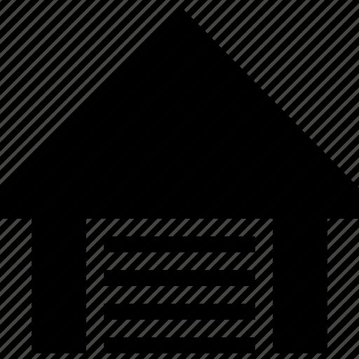 depot, garage, storage, storehouse icon