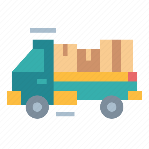 delivery, move, truck icon