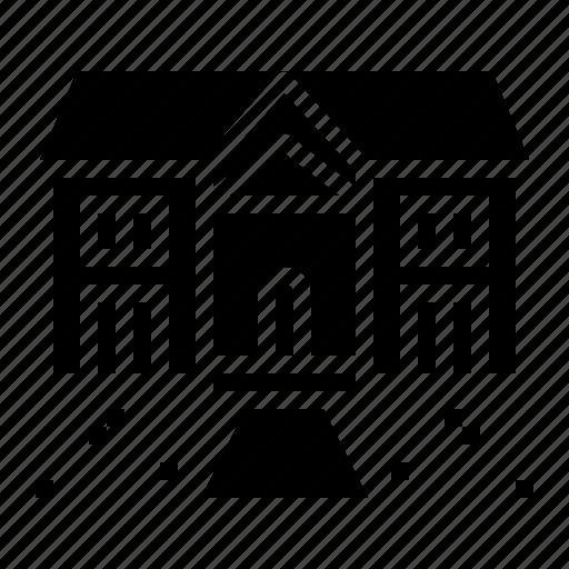 estate, mansion, real, rent, rental icon