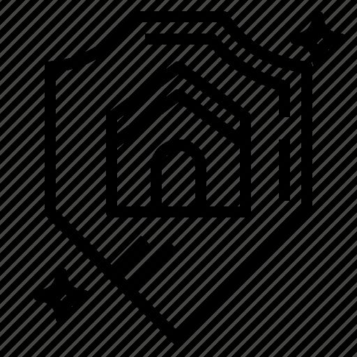 insurance, prevent, protect, shield icon