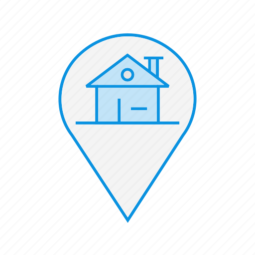 Home, house, location, property, real estate icon - Download on Iconfinder
