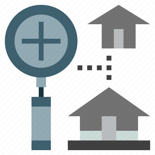 buildings, construction, estate, home, house, property, real icon