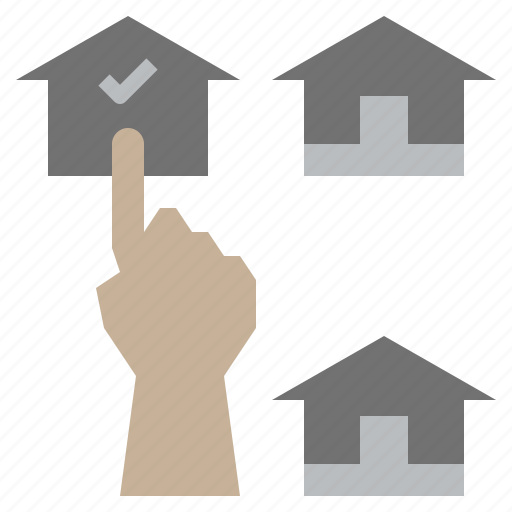 buildings, construction, home, house, property, real, select icon