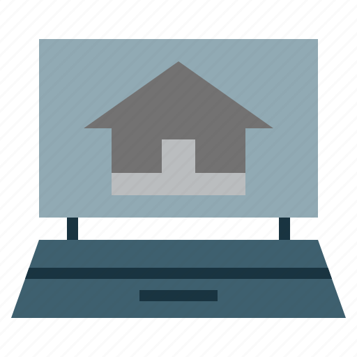 ecological, energ, estate, house, property, real, renewable icon