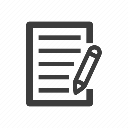 contract, deal, document, file, sign, signature icon