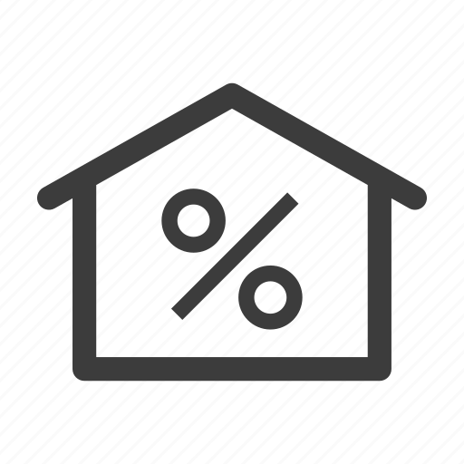 home, house, mortgage, property, real estate icon