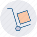 delivery, job, transport, transportation, wheelbarrow icon