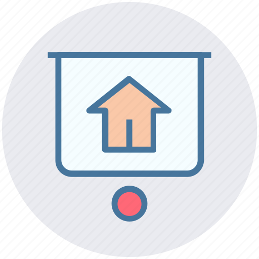home board, house board, hut board, property board, real estate, signboard icon