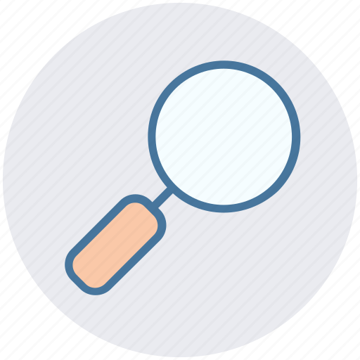 glass, magnifier, magnifying glass, zoom icon
