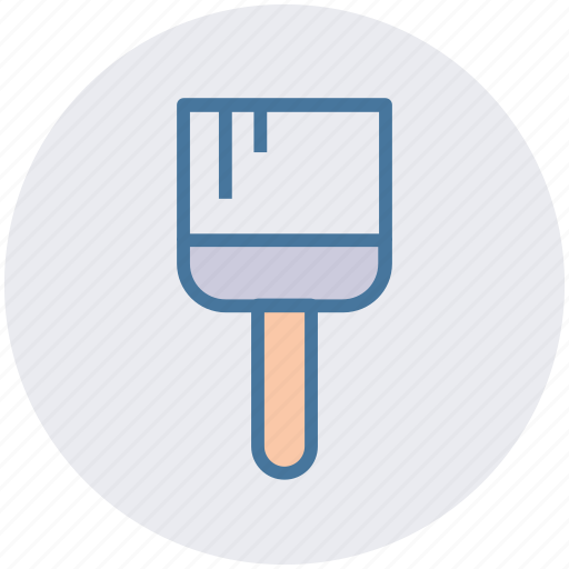 brush, color, craft, paint, paint brush, painting icon