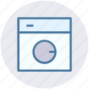 laundry, machine, robot, wash, washer, washing, washing machine icon