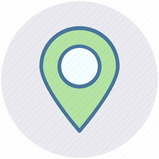 gps, location, map, marker, pin, sticky icon