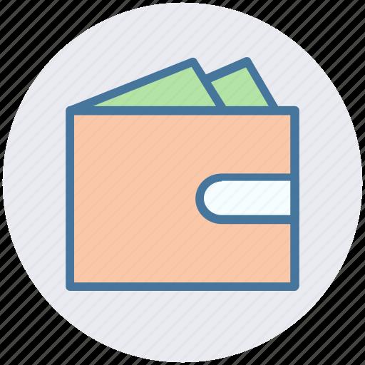 balance, money wallet, payment, sash, wallet icon