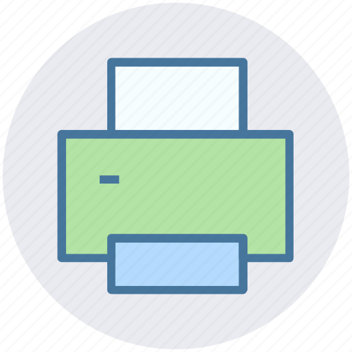 device, fax, print, printer, printing icon