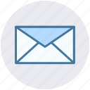 envelope, message, messaging, sign icon