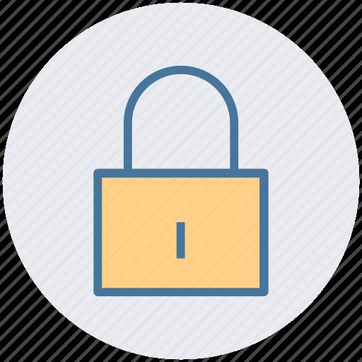 lock, locked, login, padlock, secure, security icon