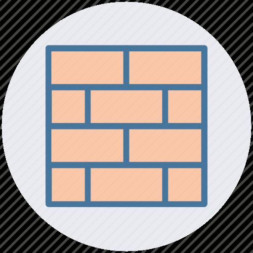 brick, brick wall, bricks, firewall, safety, security, wall icon