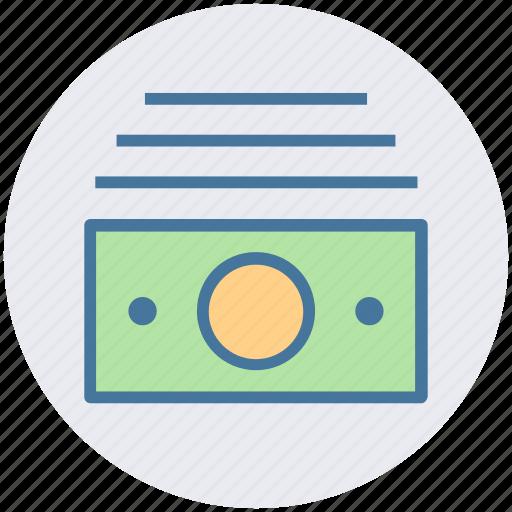 bundle, cash, cash flow, currency, dollars, finance, money icon