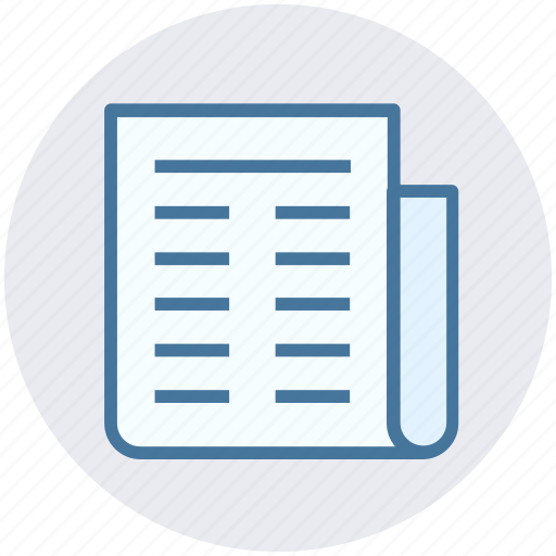 Communication, magazine, news, newspaper, paper, press, reading icon - Download on Iconfinder