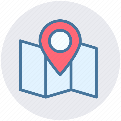 current location, location, location pin, map, pin, pointer icon
