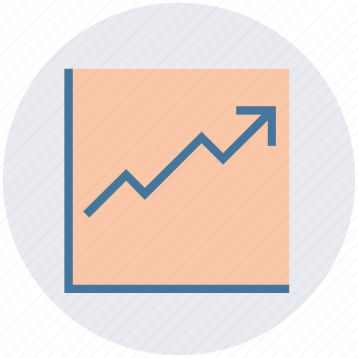 arrow, business, chart, dashboard, graph, growth, up icon