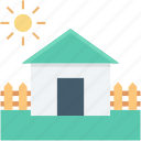 building, country house, farmhouse, home, rural house icon