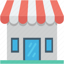 food stand, kiosk, market, shop, store icon