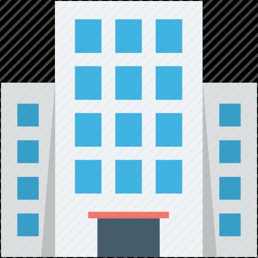 building, city building, flats, office block, skyscraper icon