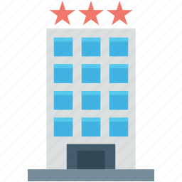 building, five star hotel, guest house, hotel, luxury hotel icon