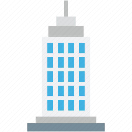 building, commercial building, office, real estate, skyline icon