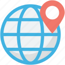 around the world, international, world location, world navigation, worldwide icon