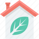 ecology, glasshouse, greenhouse, house, leaf icon