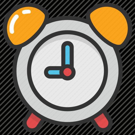 alarm clock, alarm set, clock, timepiece, watch icon