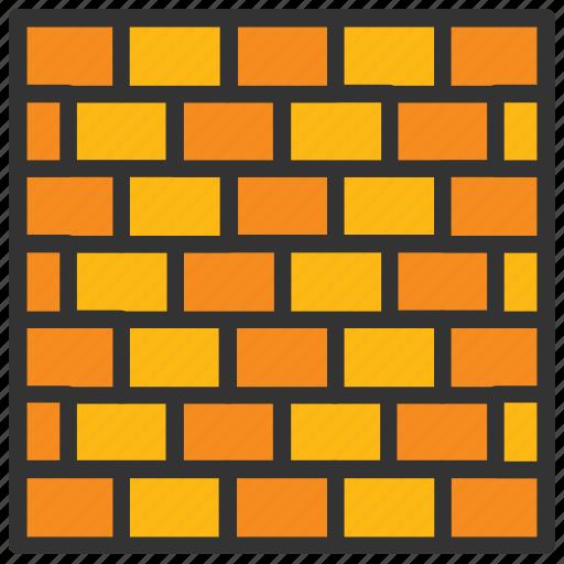 architecture, bricks wall, building infrastructure, construction, construction development icon