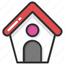 cottage, hut, real estate, shack, villa icon