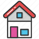 building, cottage, home, house, hut icon