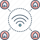 connection, home, house, network, wifi, wifi home