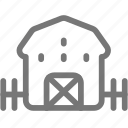 country, farm, home, house icon