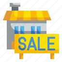 building, house, loan, money, sale icon