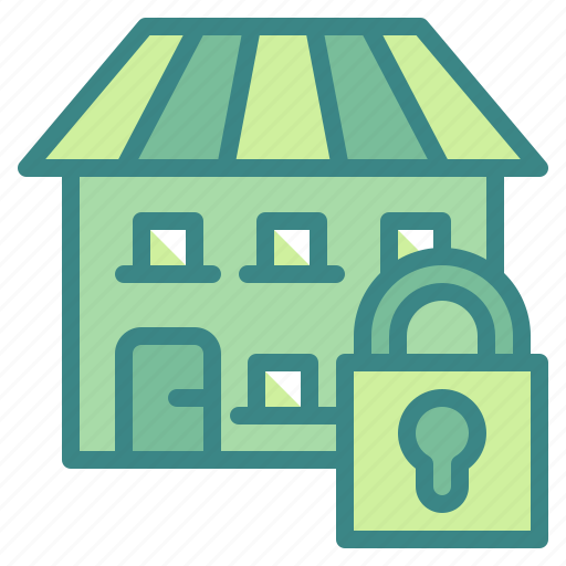 house, insurance, protection, secured, security icon