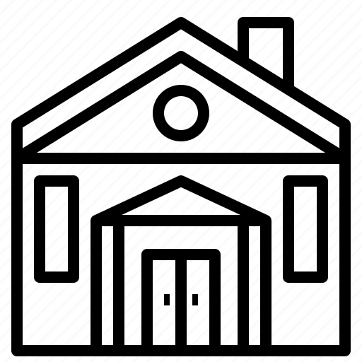 estate, family, home, house, loan, property icon