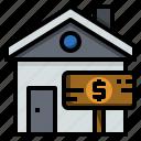 agent, estate, home, house, realtor, rental, sale icon