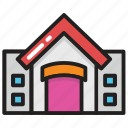 building, storage unit, storehouse, storeroom, warehouse icon