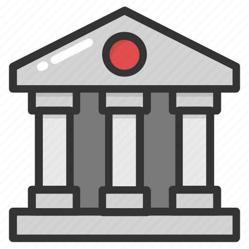 apex court, bank, court building, courthouse, institute icon