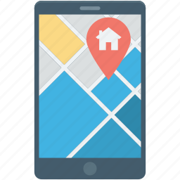 gps device, gps tracker, handheld gps, navigation, navigation device icon