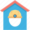 building, home, house, hut, labour house icon