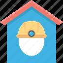 building, home, house, hut, labour house icon