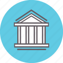 bank, building, finance, financial, loan, money icon
