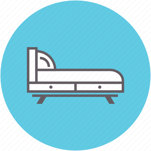 bed, bedroom, furniture, hotel, sleeping icon